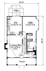 narrow lot floor plans eplans cape cod house plan narrow lot house 1283 square