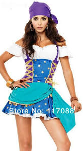 Gypsy Halloween Costume Shop Free Shipping Halloween Pirate Clothes Gypsy