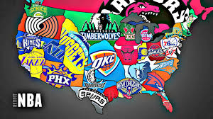 map of nba teams how nba fans on the go can always stay connected with their