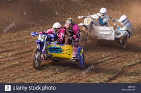 race motocross sidecar motocross race stock photo royalty free image 38074329