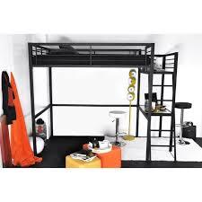 lit mezzanine 1 place bureau integre lit mezzanine avec bureau achat vente lit mezzanine avec