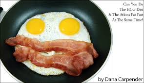 can you do the hcg diet u0026 atkins fat fast at the same time