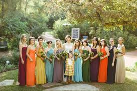 Backyard Fall Wedding Ideas Colorful Fort Worth Wedding Ruffled
