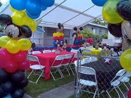 mickey mouse decorations turcios party rental decorations