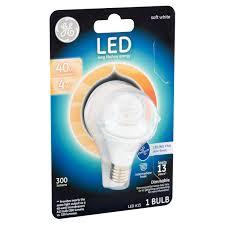 Ceiling Fan Light Bulbs Led by Ge Led 4w 300 Lumens A15 Soft White Bulb Walmart Com