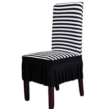 online get cheap and white striped chair covers aliexpress com