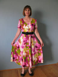 retro sewing romance writer 80s summer dress
