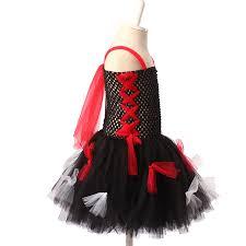 Girls Zombie Halloween Costumes Shop Keenomommy Girls Zombie Tutu Dress Black Red Halloween