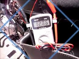 testing alternator output and battery voltage of royal enfield