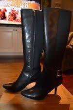 ugg womens julietta boots black calvin klein leather casual knee high s boots ebay