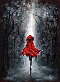 red red riding hood dark fantasy art gothic goth