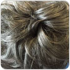 bun scrunchie grey hair scrunchie hair for bun or ponytail salt pepper