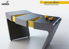 foldable kitchen table that will save your space u2013 accordion