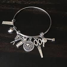 ebay jewelry silver charm bracelet images Hair stylist jewelry ebay JPG