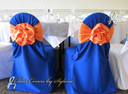 blue chair covers chicago chair covers for rental in royal blue in the polyester fabric