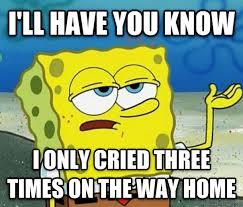 the day after a devastating breakup meme guy