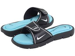 Nike Comfort Slide Nike Comfort Slide Sandals Women Dark Obsidian White Powder Blue