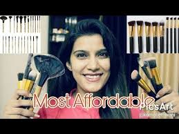 affordable makeup artist most affordable makeup brushes in india beginners makeup brush