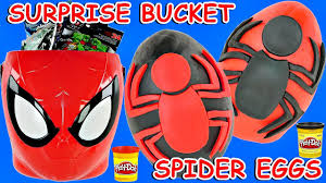 spider man ultimate halloween surprise basket play doh surprise