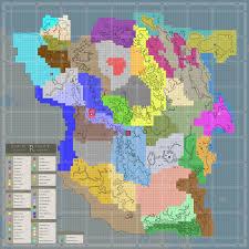 Skyrim Quality World Map by Tamriel Rebuilt