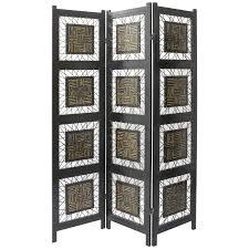 6 panel room divider oriental furniture coco twig room divider 72h in walmart com