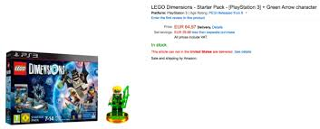 lego dimensions black friday 2017 amazon green arrow lego dimensions getting public release in bundles in