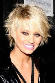 texture of rennas hair short layered haircut with pointed texture for bold and beautiful