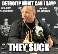 Red Wings Meme - 2014 boston bruins best team claude julien has ever coached