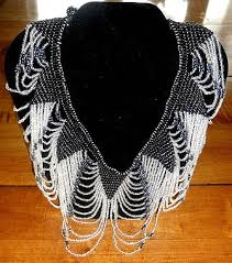 beaded collar necklace jewelry images 360 best 1920s jewelry transitional and early art deco art jpg