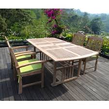 Teak Outdoor Dining Table And Chairs Teak Outdoor Dining Sets For Less Overstock Com