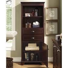 crosely lydia linen cabinet in espresso cf7001 es
