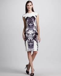 sheath dress sheath dress sheath dress lhuillier crane print