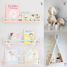 étagère murale chambre bébé etagere murale chambre fille