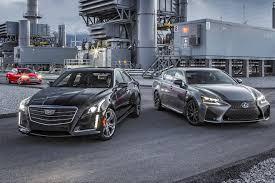 lexus vs comparison audi s6 4 0t quattro vs cadillac cts v sport vs lexus
