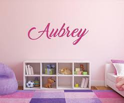 girls name wall decals home design ideas girls name wall decals