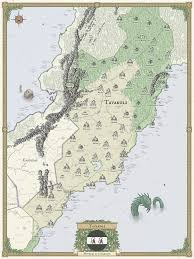 National Map Fantasy Map And Worldbuilding Examples