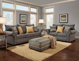 living room collections jitterbug gray sofa and loveseat fabric living room sets
