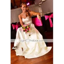 light in the box wedding dress reviews a line sweetheart floor length satin custom wedding dresses with
