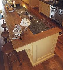 kitchen counter island a kitchen work island designed with guests in mind homebuilding