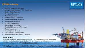 Radio Operator Resume E U0026p O U0026m Services Sdn Bhd Epoms Linkedin