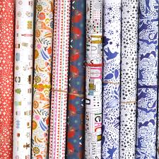 mixed pack of five wrapping papers by paper cloth design studio