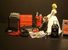 mechanic cake topper gorgeous mechanic wedding cake topper wedding ideas