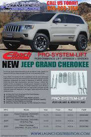 lifted jeep grand cherokee eibach pro system lift for jeep grand cherokee launch distribution