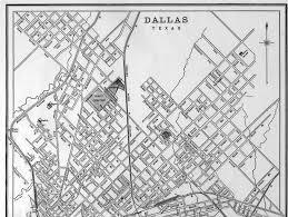Map Dallas Texas by Cram U0027s Map Of City Of Dallas Texas 1893 Top Half