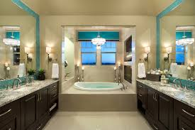 Turquoise And Beige Bedroom Turquoise Tile Backsplash Bathroom Contemporary With Beige Walls