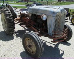 1954 ford naa tractor item a8360 sold august 14 antique