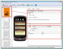 make android app can i make the book app show the author basic information
