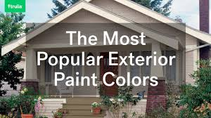 the most popular exterior paint colors huffpost