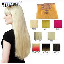 clip extensions msbeauty clip in remy human hair extensions hair