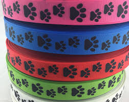 printed grosgrain ribbon grosgrain ribbon etsy